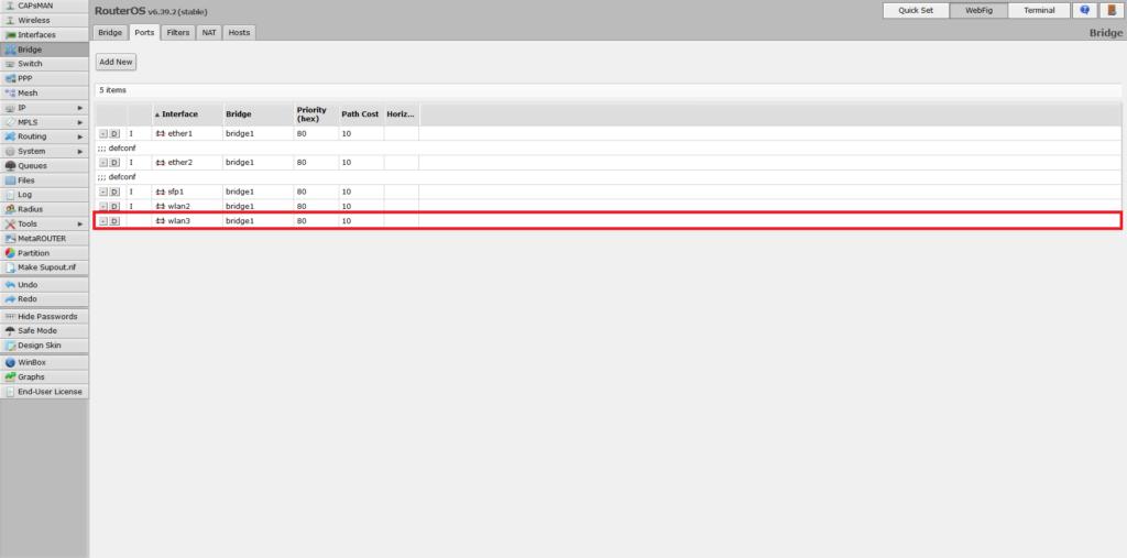Adding virtual AP interface to bridge
